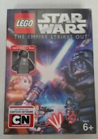 DVD LEGO Star Wars The Empire Strikes Out w/ Darth Vader Mini Figure NEW