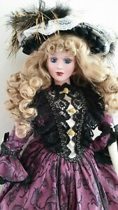 Hillview Lane porcelain doll Limited Edition Collection Anastasia