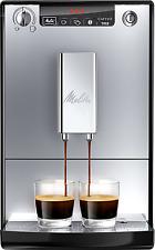 Melitta E 950-103 Kaffeevollautomat Caffeo Solo mit Vorbrühfunktion, silber