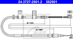 ATE Parking Brake Cable For DAEWOO Lanos 96245829