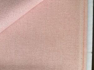 Ash Rose Pink 32 Count Zweigart Murano even weave fabric - various size options