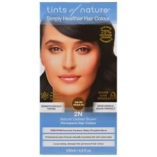 Tints of Nature Permanent Hair Colour 2N Natural Darkest Brown 130ml