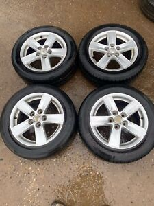 """Mitsubishi Lancer GS2 16"""" Alloy Wheels With Tyres 07 - 14"""