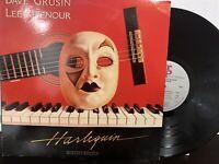 Dave Grusin / Lee Ritenour – Harlequin LP 1985 GRP – GRP-A-1015 VG+