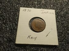 1870 Indian Head Cent !! Key date !!