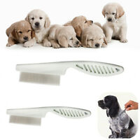 Cat Dog Dust Removal Grooming Stainless Steel Pin Hair Shedding Brush Pet Comb