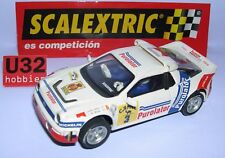 SCALEXTRIC SPAIN ALTAYA DUELOS MITICOS FORD RS200 #3 PUROLATOR C.SAINZ-L.R.MOYA
