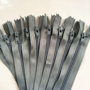 30/60pcs 20Inch (50cm) Nylon Coil Zipper Bulk for Sewing Craft 20 colors