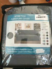 Stretch Sofa Slipcover – Polyester & Spandex  Non-Slip , Washable for XL Sofa