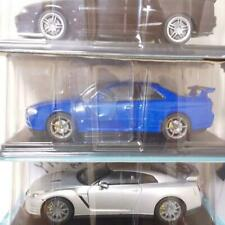 1/24 Domestic Famous Car Collection R33 R34 R35 Skyline Gt-R