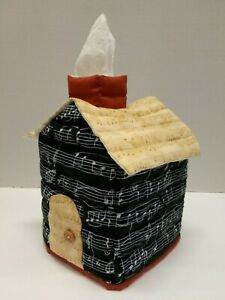 House Shaped Tissue Box Cover(Staff Notation)