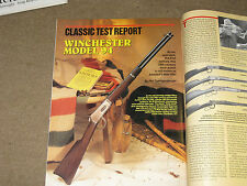 GUNS & AMMO TEST DESERT EAGLE 50 AE, SPRINGFIELD M6, WINCHESTER 1894