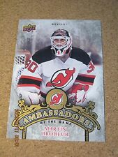 2010 11 Upper Deck Series 2 Ambassadors of the Game AG 56 Martin Brodeur      XX