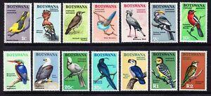 BIRDS BOTSWANA 1967 DEFINITIVES FISH EAGLE etc MNH $59