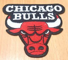 NEW NBA CHICAGO BULLS BASKET BALL LOGO SYMBOL IRON ON PATCH SHIRT FABRIC PO218