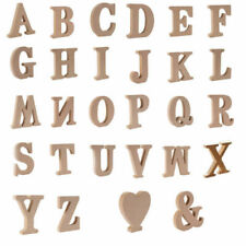 Wooden Letters Hearts & Love Decorative Plaques & Signs