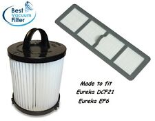 Filter Bundle for Eureka DCF21 & EF6 HEPA Exhaust Vacuum Filters 68931A, 69963