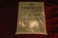 1982 CORVETTE C3 ASSEMBLY MANUAL 100'S OF PAGES OF DETAILS & ILLUSTRATIONS