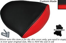 RED & BLACK CUSTOM FITS HYOSUNG 125 250 650 GTR & COMET 11-14 REAR SEAT COVER