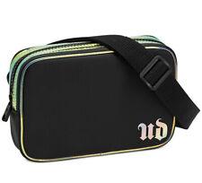 Urban Decay Makeup Cosmetic Adjustable Belt Bag Fanny Pack, Black & Iridescent