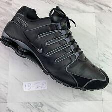 New Nike Shox NZ EU Black Gray Running Shoes (size 13)       -I10