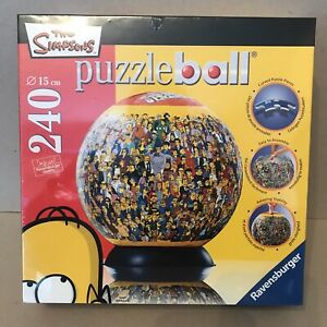 THE SIMPSONS PUZZLEBALL NEW & SEALED Ravensburger 240 Pieces