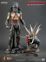 "Tracker & Hound Predator Hund Predators Movie 12"" Figur MMS147 Hot Toys"