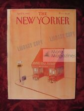 NEW YORKER April 5 1982 Nadine Gordimer Sally Wells Elizabeth Drew Jane Kramer