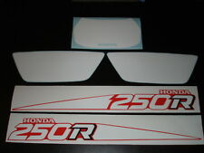 1988-1989 Honda TRX 250 FENDER AND NUMBER PLATE DECAL SET