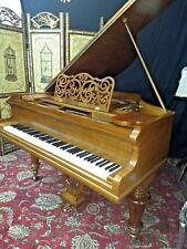 Stunningly beautiful 5' grand piano ( free shipping &Yamaha key felt  cover )