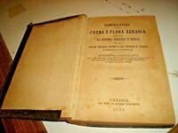 NOMENCLATURA DELLA FAUNA E FLORA AGRARIA di R. BOTTEONI ZIINO - CATANIA 1878