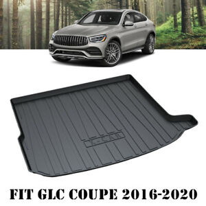 Heavy Duty Cargo Mat Boot Liner Luggage Tray for Mercedes-Benz GLC Coupe 2016-21