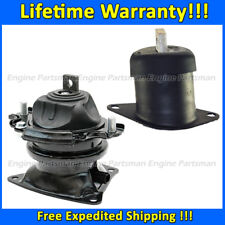 1879 Front+Rear Engine Motor Mount Set 2PCS for Honda Accord 3.5L 2008-2012