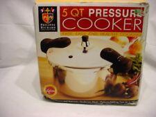 Philippe Richard Stovetop Pressure Cooker 5 Quart Aluminum TTU-18124