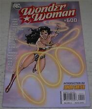 WONDER WOMAN #600 (DC Comics 2010) Lynda Carter intro (VF-) Debut of new costume
