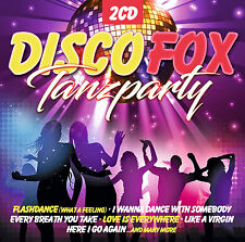 CD Disco Fox Tanzparty von Various Artists  2CDs