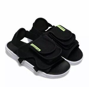 Nike Jordan Ls Slide Sandals for Men, Size US 13-Black/White/Green CZ0791-002