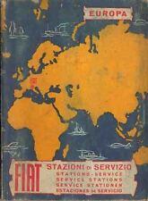 FIAT STAZIONI DI SERVIZIO EUROPA 1964