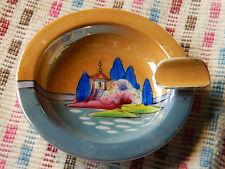 VINTAGE cendrier NORITAKE en porcelaine JAPON MINI ASHTRAY Aschenbecher JAPAN