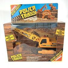 Buddy L Power Traxx Battery Operated Crane Vintage Factory Sealed 1988