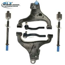 6 Front Lower Control Arm and Ball Joint Tie Rod Ends for Nissan Titan 04-15