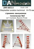 Dan Models 48511 Stepladder Aviation Technical #3 , Height 70 mm 1/48 scale kit