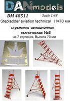 Dan Models 48511 Stepladder Aviation Technical #3 , Height 70 mm 1/48 scale kit