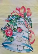 """Wedding Bell with Jewels Outdoor Garden Flag by Evergreen 12"""" x 18"""", #1268"""
