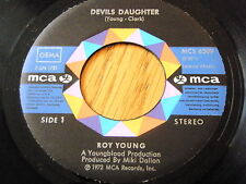 "ROY YOUNG - DEVILS DAUGHTER  7"" VINYL"