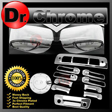 13-17 RAM Chrome Mirror+Light+4 Door Handle+Tailgate+Camera+Gas+3rd Brake Cover