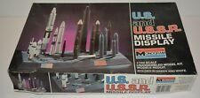 Monogram US And USSR Missile Display 1:144 Model Kit - Most Parts Sealed!