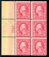 USAstamps Unused FVF US Plate Block 7942 From 505 Error Sheet Scott 499 OG MNH