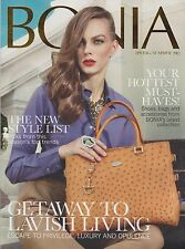 BONIA Magazine Spring/Summer 2012,UK,, Fashion & Lifestyle