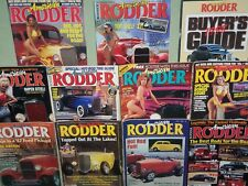 Lot of 11 AMERICAN RODDER Car Magazines 1987-1998 Original Issues FREE SHIP